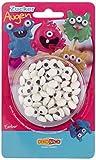 Decocino Essbare Zuckeraugen HOCHWERTIG von DEKOBACK    Augen aus Zucker zur Dekoration von Muffins, Cupcakes, Cake Pops, Kuchen, Torten etc.   3er Pack (3 x 25 g)    Augen aus Zuckerguss kaufen
