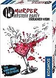 Kosmos 695125 - Murder Mystery Party - Tödlicher Wein - Das Krimi-Dinner für zu Hause, Komplett-Set für genau 6 - 8 Personen ab 16 Jahren, Partyspiel