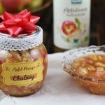 Apfel-Mango-Chutney mit byodo Apfelessig - DIY Geschenk aus der Küche