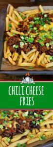 Chili Cheese Fries Rezept - selber machen