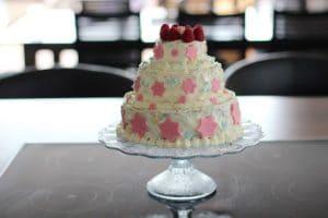 3 stöckige Torte mit Buttercreme selber machen für Anfänger