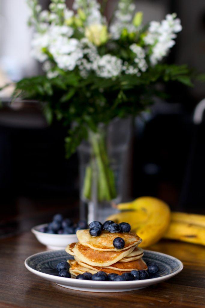 Eiweißpulver Pancakes Rezept mit Banane