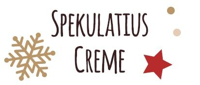 Etikett für Spekulatius Creme Aufstrich Rezept