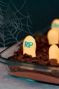 halloween nachspeise friedhof mousse au chocolat wendland facebook