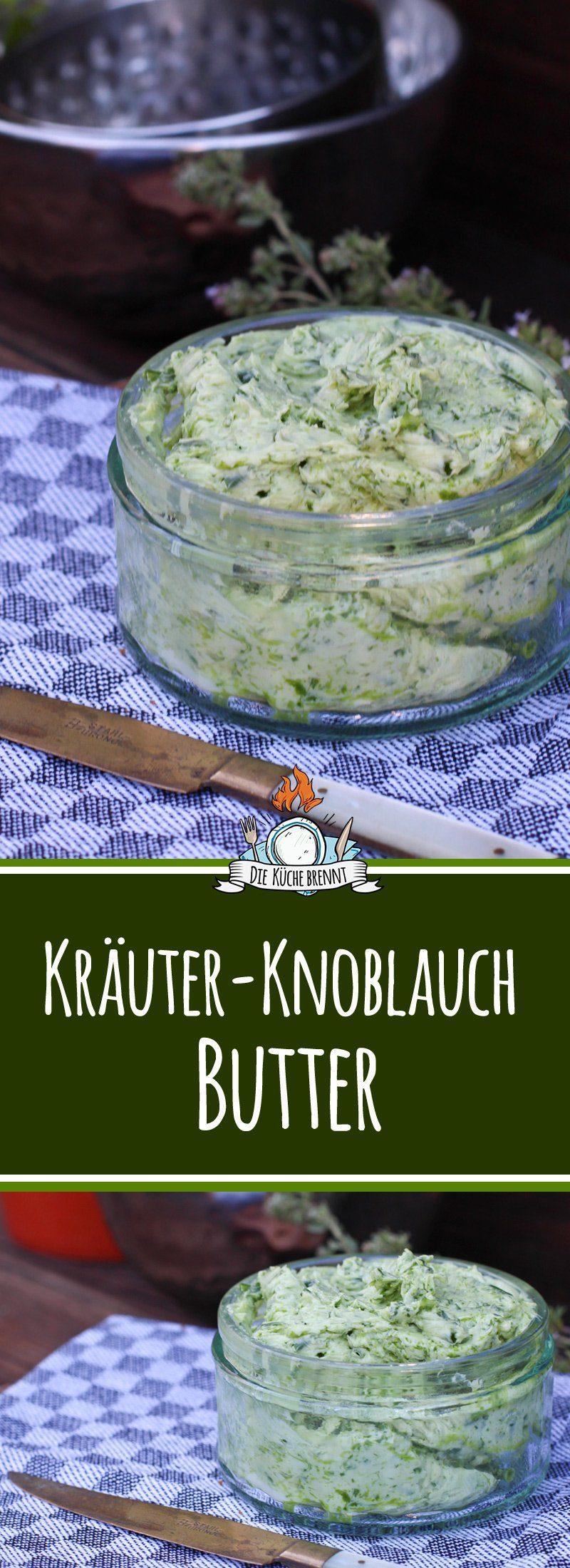 Knoblauch Butterzum Grillen