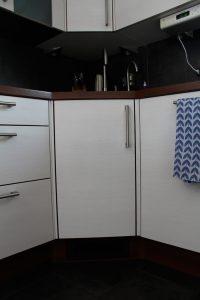 Küchenschrank von außen