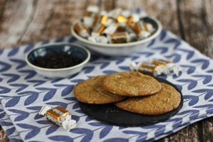 Karamel & Schokoladen Cookies Rezept
