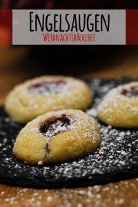 Rezept Engelsaugen Plätzchen mit Marmelade