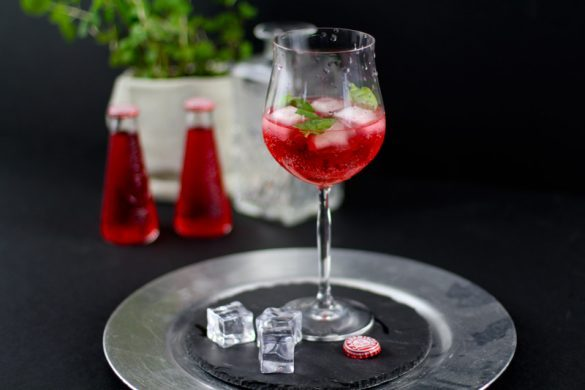 Cocktail Rezept Campari Tocco Rosso - Sommertrend 2017