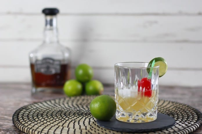 Whisky Sour Drink mixen