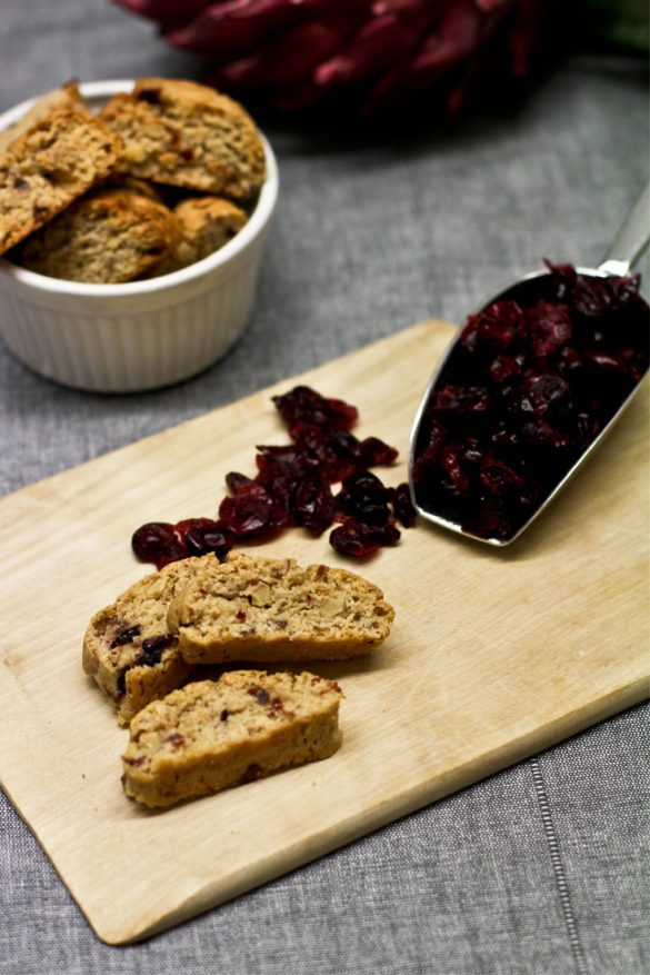 Cantuccini Rezept Cranberries