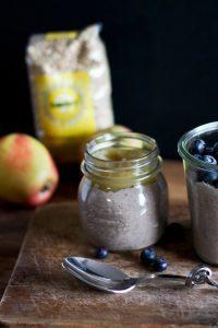 Buchweizen Frühstücksbrei mit Obst