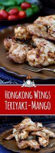 Hühnchenflügel grillen - Hongkong Teriyaki Mango Wings