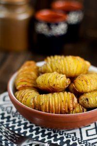Fächerkartoffeln aus dem Backofen / Hasselback Kartoffeln Potatoes