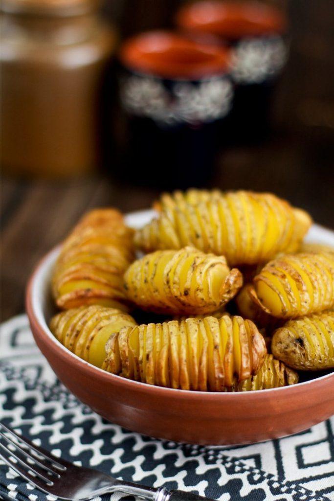 Fächerkartoffeln vom Grill