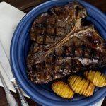 Ein saftiges T-Bone Steak vom Grill