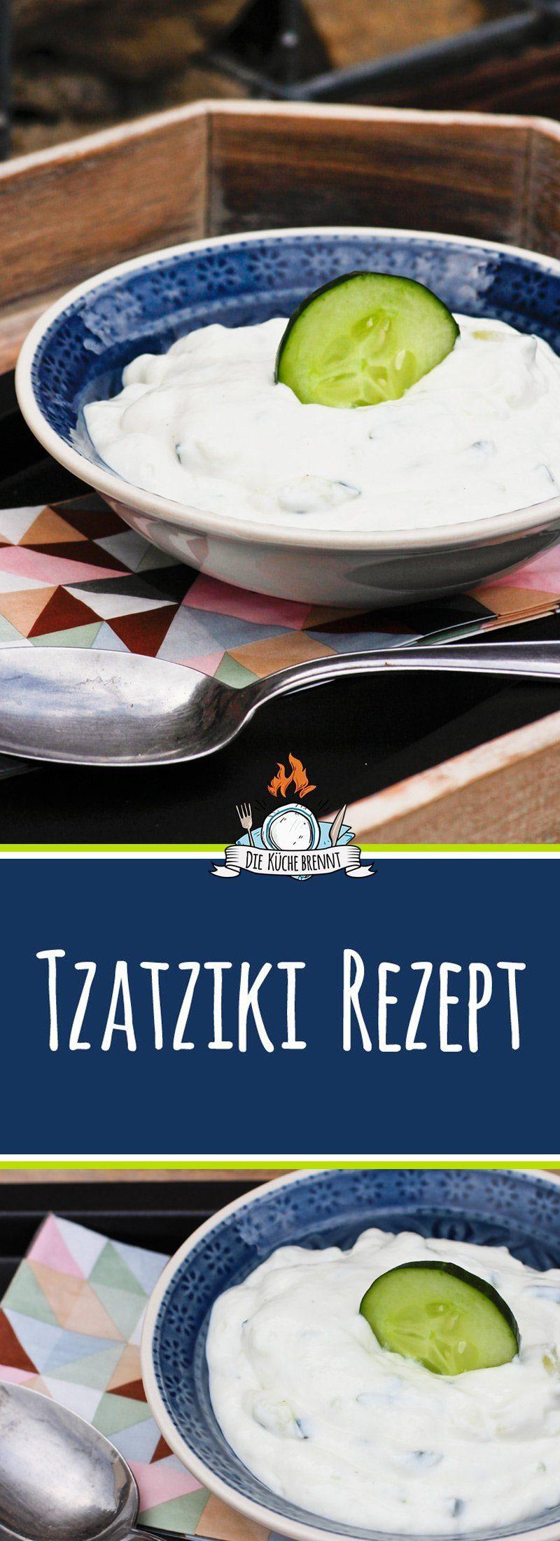 Tzaziki Rezept mit griechischem Joghurt