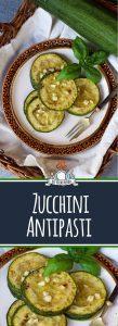Kalte Zucchini Antipasti