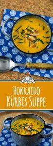 Hokkaido Kürbissuppe Rezept mit Kartoffeln