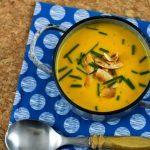 Cremige Suppe für den Herbst