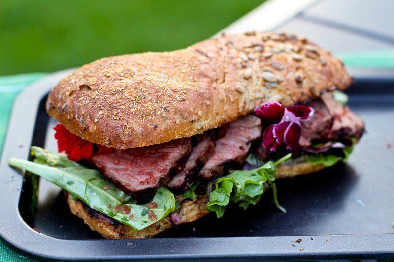 Roastbeef Sandwich Rezept
