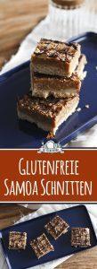 Samoa Schnitten - einfacher glutenfreier Kuchen