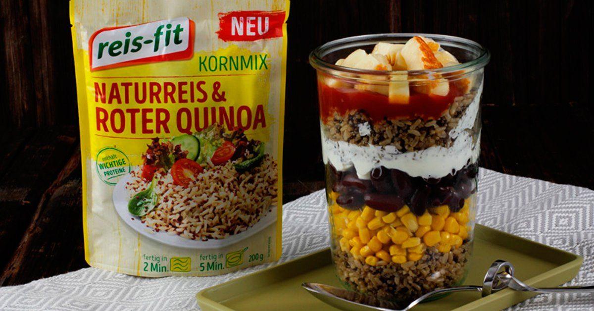 3 schnelle Gerichte mit reis-fit Kornmix - einfach, super, lecker ...