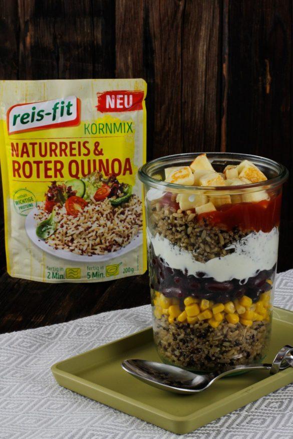 3 schnelle Gerichte mit reis-fit Kornmix - einfach, super, lecker!