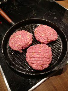 burger patties selber machen pfanne