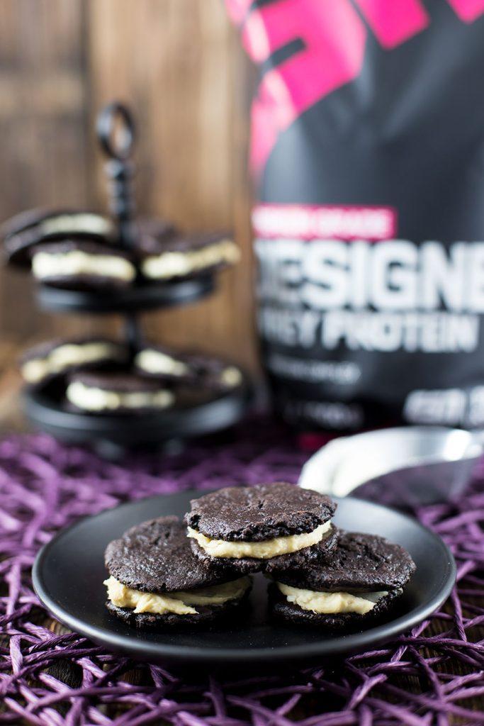Cookies mit Whey Pulver