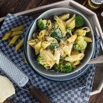 Italienische Gemüse - Nudel - Pfanne