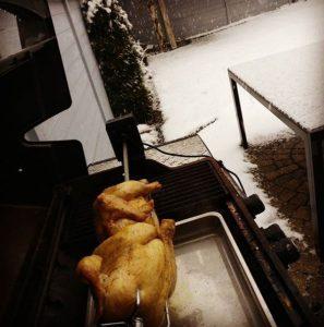 Hähnchen vom Grill