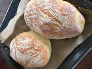 Die fertigen Brote