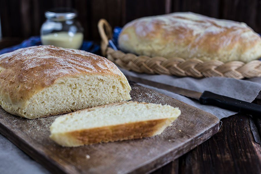 Fluffiges Brot selber backen