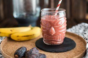 Erdbeer Bananen Smoothie Rezept (ohne Joghurt)
