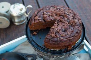 Glutenfrei Backen - Dattel Schoko Bananen Kuchen Rezept