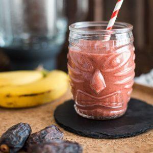 instagram erdbeer bananen smoothie