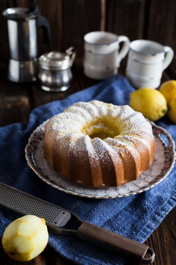 Zitronen Gugelhupf