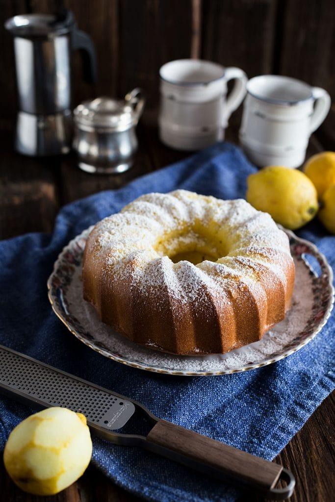 Saftiger Zitronenkuchen Rezept mit Speisestärke
