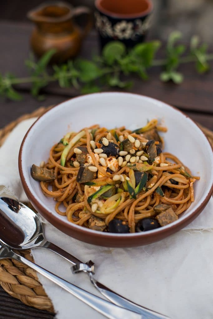 zucchini zoodles rezept kochen