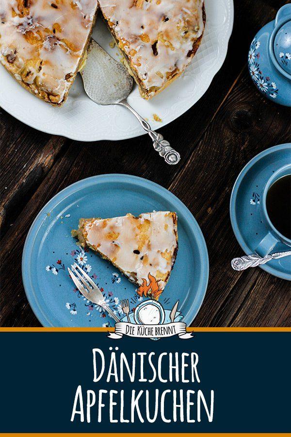 Dänischer Apfelkuchen - Einfaches Rezept