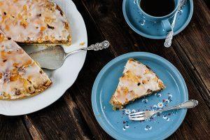 Dänischer Apfelkuchen Rezept - Backen mit Äpfeln