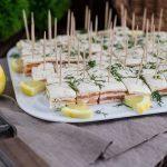 Lachs Frischkäse Fingerfood Häppchen