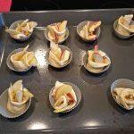 Gedrehte Apfel Muffins Rezept mit Honig & Walnüssen - Jazz Äpfel