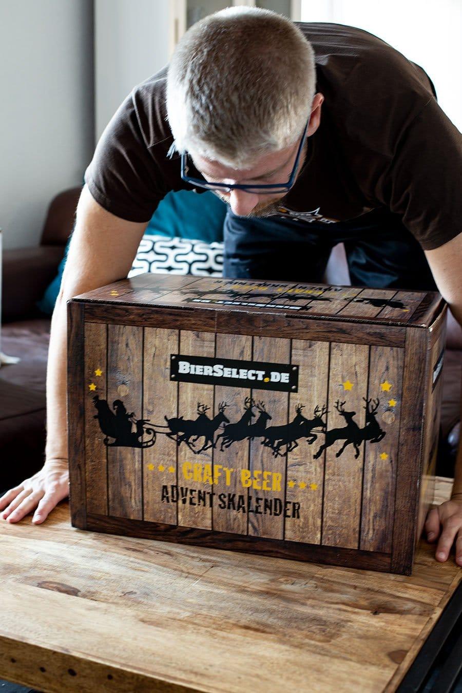 Geschenkidee für die großen Jungs - der Craft Beer Adventskalender von BierSelect