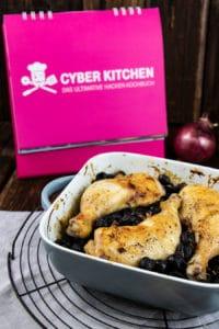 Hähnchen mit gebackenen Oliven Rezept ala Deutsche Telekom