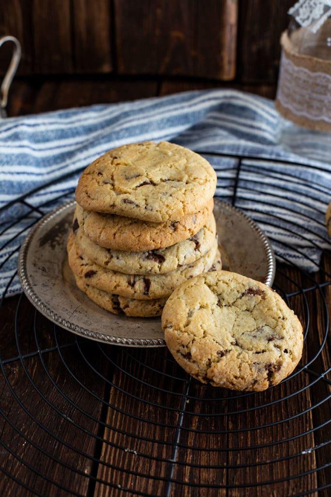 American Cookies Rezept mit Schokolade