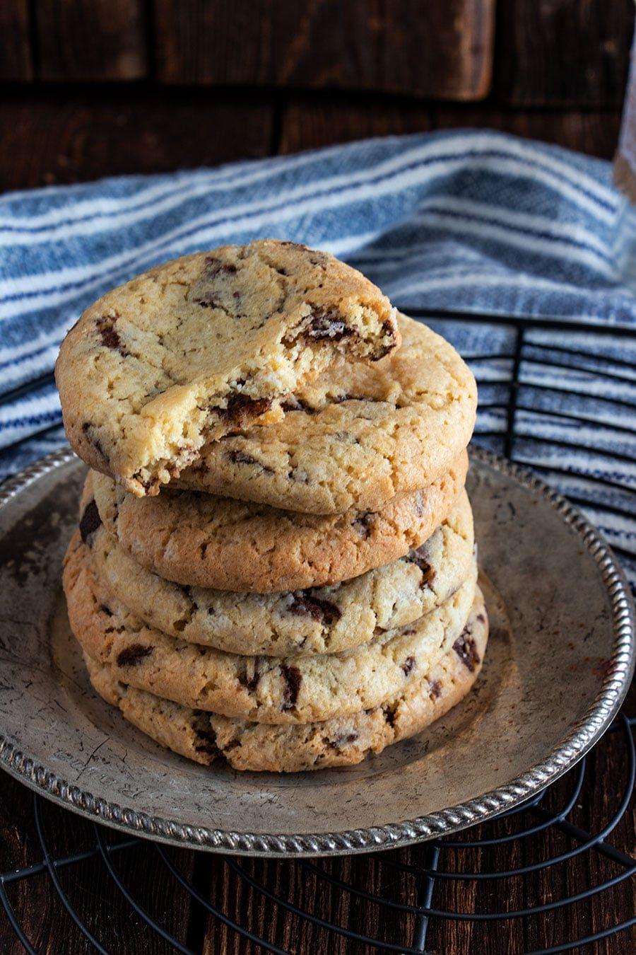 american cookies rezept mit schokolade fast wie bei subways die k che brennt. Black Bedroom Furniture Sets. Home Design Ideas