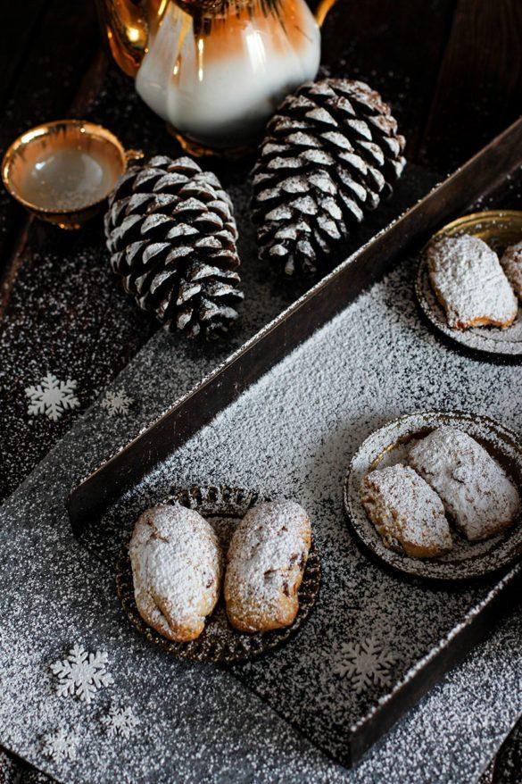 Weihnachtliche Mini Stollen Rezept aus der Weihnachtsbäckerei