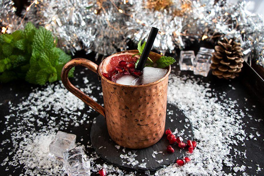 Drink für Weihnachten